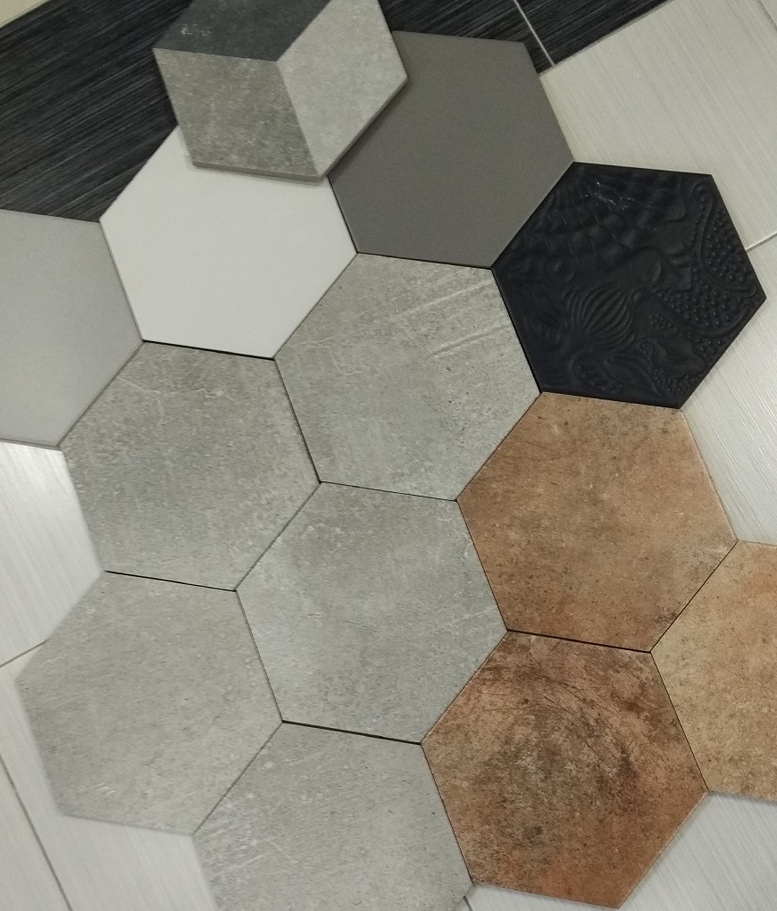 Dlažba hexagony