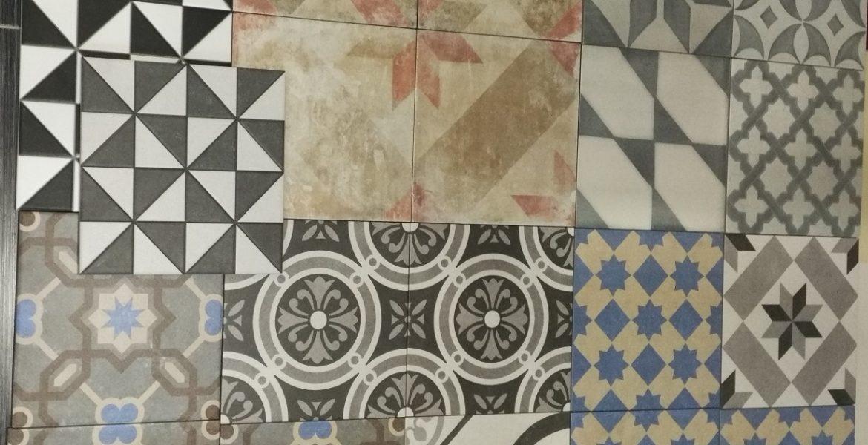 Nové vzory dlažeb a obkladů v Olomouci