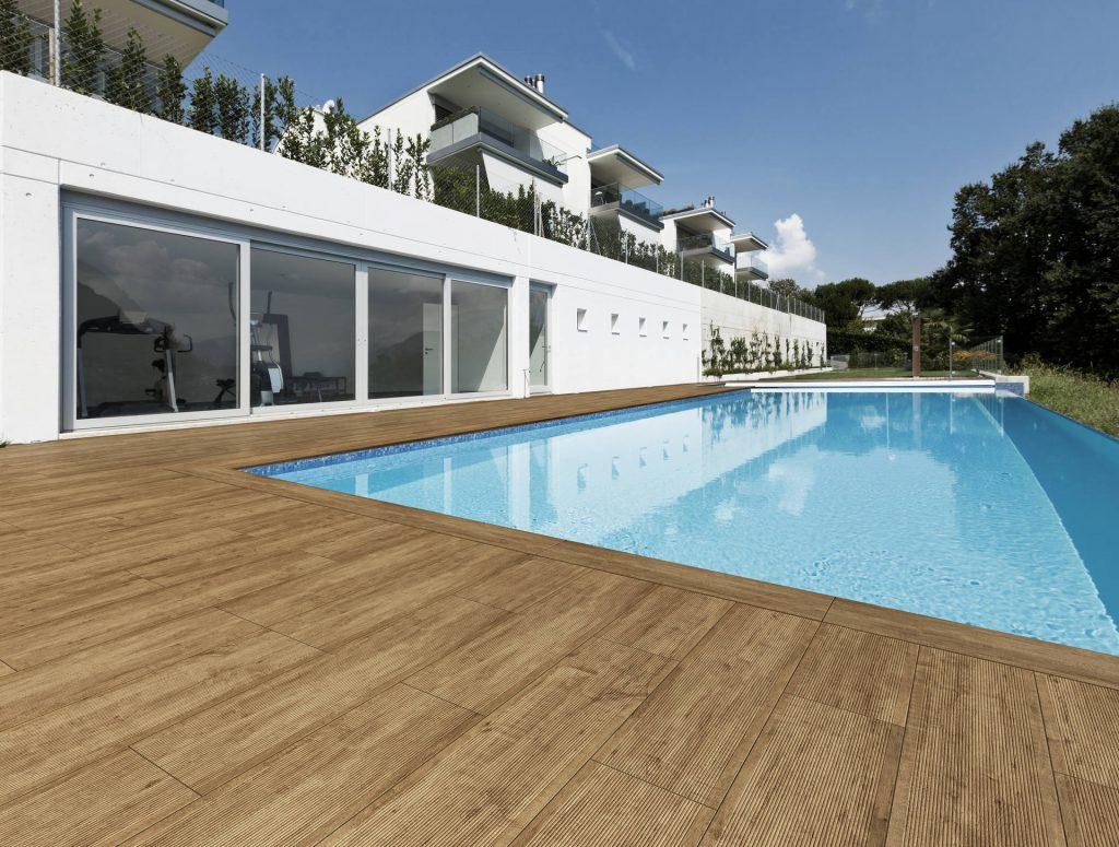 Dlažba na terasy a bazény