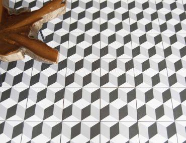 Nové stylové vzorky dlažeb
