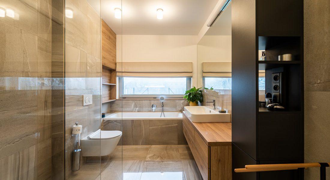 Realizace moderní koupelny